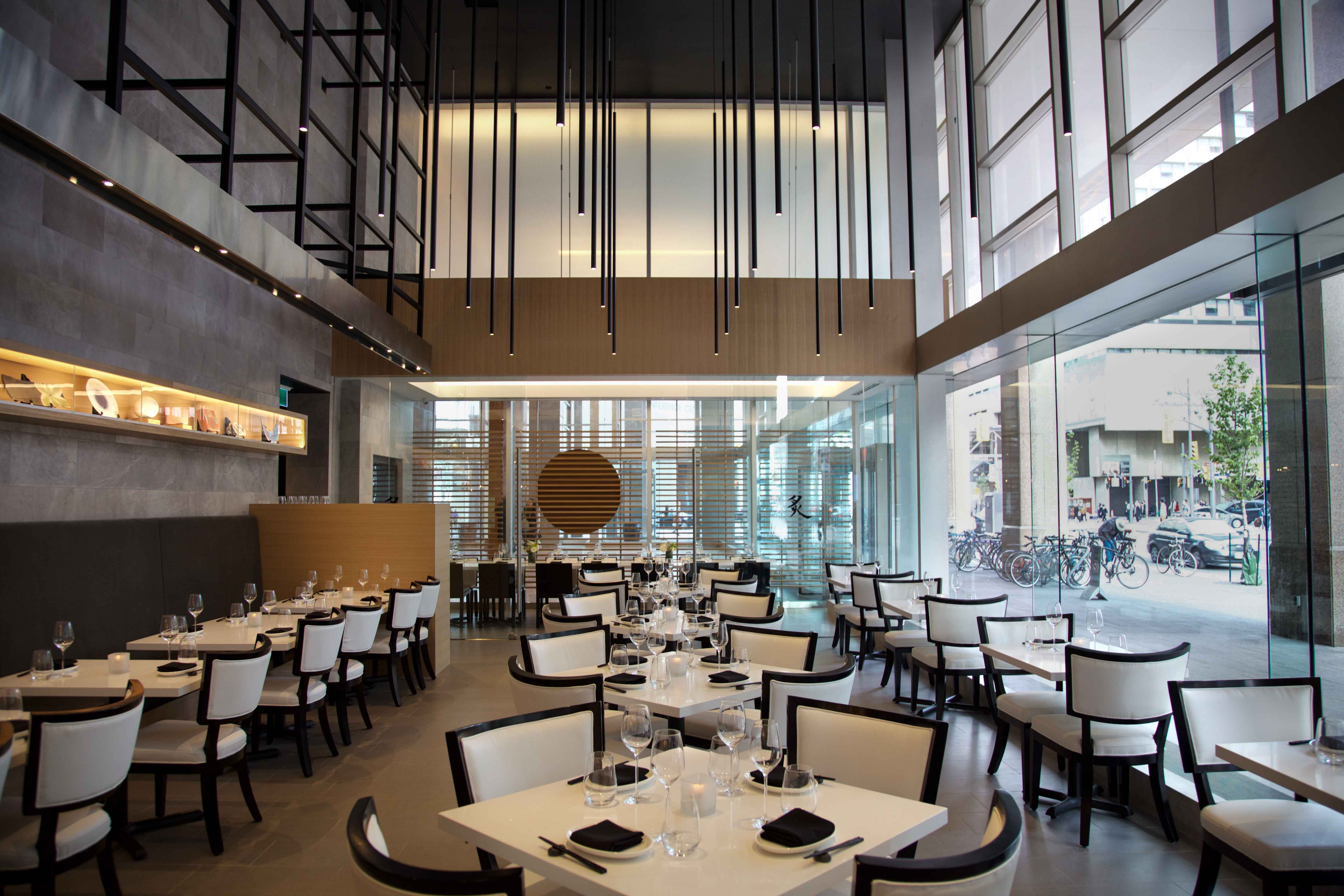 Gyoza bar aburi restaurants locations for Best private dining rooms toronto